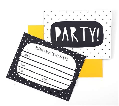 black and white party invitations theruntime com black and white party invitations by of life lemons