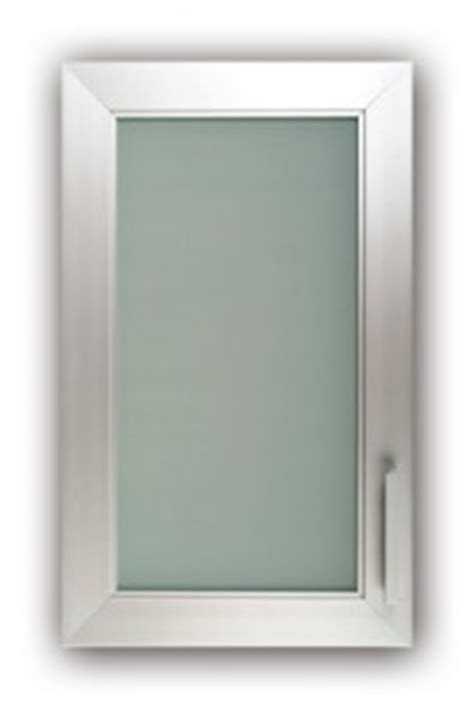 aluminum frame frosted glass kitchen cabinet doors