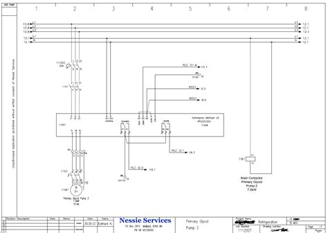 electrical panel drawing