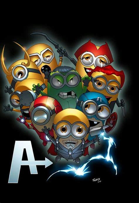 imagenes de minions avengers the avengers minions comics mashup pinterest