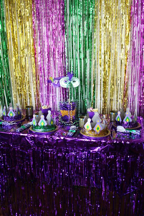 mardi gras themed decorations kid friendly mardi gras ideas