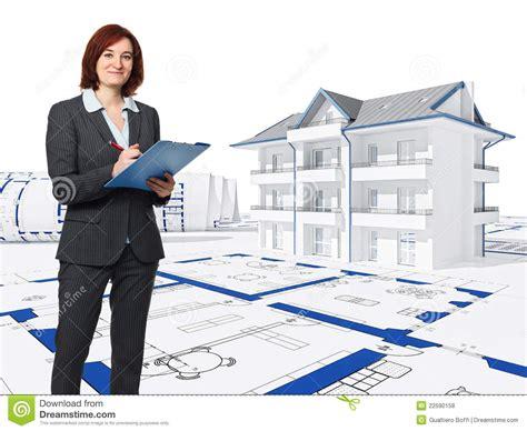 architect at work stock illustration image of background 22590158