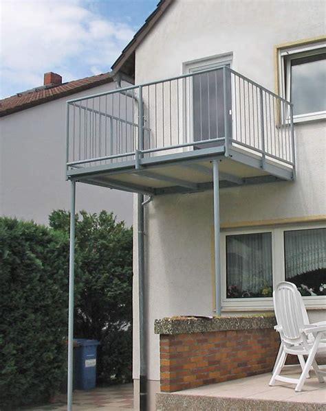 Anbau Balkon Stahl by Anbau Balkon