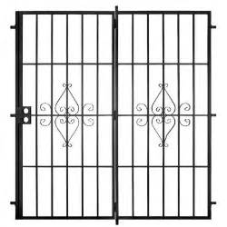 Security Patio Doors Home Depot by Unique Home Designs Su Casa Black Outswing Patio Security