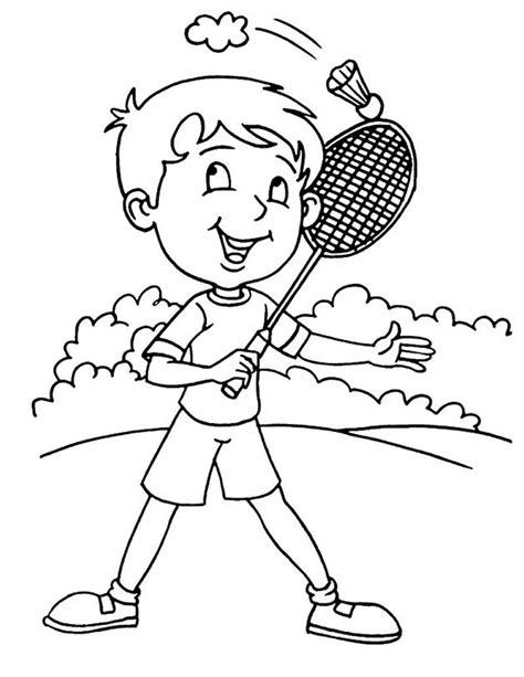 dibujos niños jugando para imprimir dibujos sobre deportes 174 para colorear e imprimir