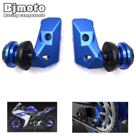 Axle Slider Import Yamaha R25 Mt25 aliexpress buy motorcycle alloy cnc rear axle