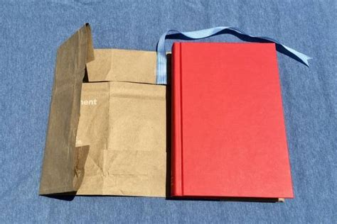 How To Make A Paper Bag Book Cover - how to make a paper bag book cover with step by step