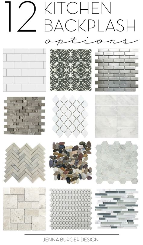 kitchen tile backsplash options inspirational ideas 20 diy kitchen backsplash projects to give your kitchen an