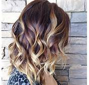 Brown Hair With Blonde Highlights Bob Hairstyle