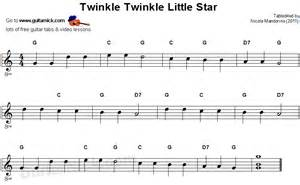 Easy guitar songs twinkle twinkle little star easy guitar lesson