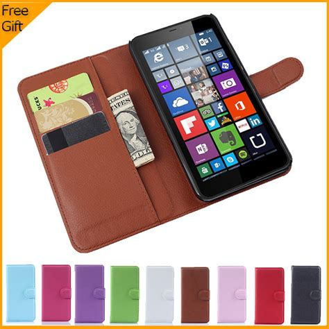 Microsoft Lumia 640 Lte Xl aliexpress buy luxury wallet leather flip cover for microsoft lumia 640 xl lte dual
