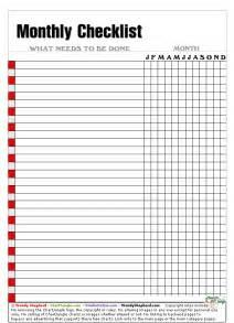 monthly checklist x gif