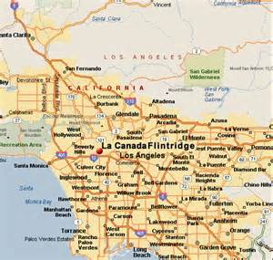 la canada california map la crescenta glendale annex map related to glendale real