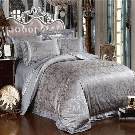 image gallery silver comforter