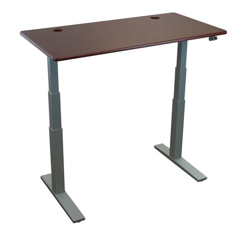 Upstage 24 Height Adjustable Desk Base By Imovr Height Adjustable Desk Base