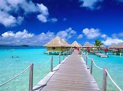 Bora Bora Beach Desktop Wallpaper
