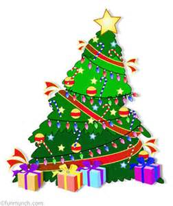 Animated christmas trees clip art