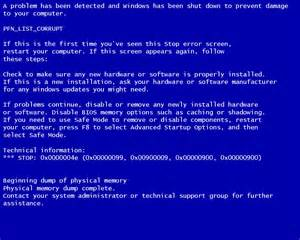 Images of Windows 7 Blue Screen Of Death