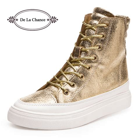 2016 casual shoes wedge high heel boots high top