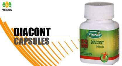 Diacont Capsule Obat Diabetes produk makanan kesehatan tianshi