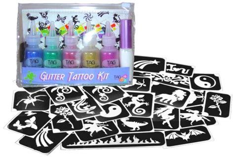 Tattoo Kit Perth | tag glitter tattoo kit for girls face paint supplies perth