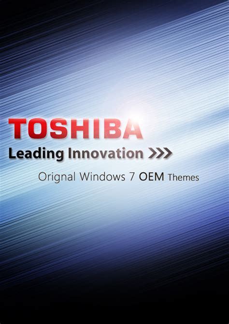 Free Download Themes For Windows 7 Toshiba | windows 7 oem toshiba themes by domino333 on deviantart