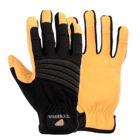 terra leather all purpose large work gloves