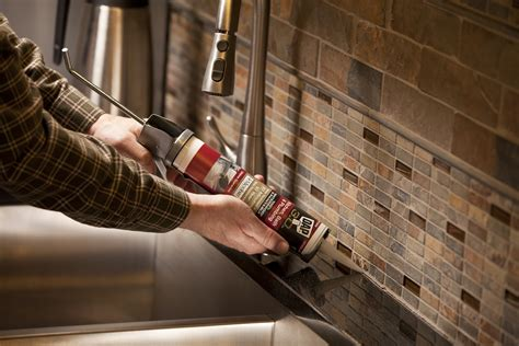 caulking kitchen backsplash types of caulks and how to use them pro construction guide
