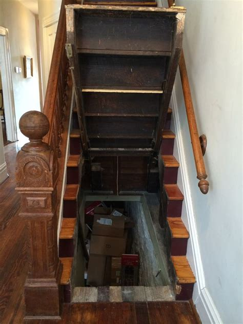 liftable staircase tiny house inspiration stair storage