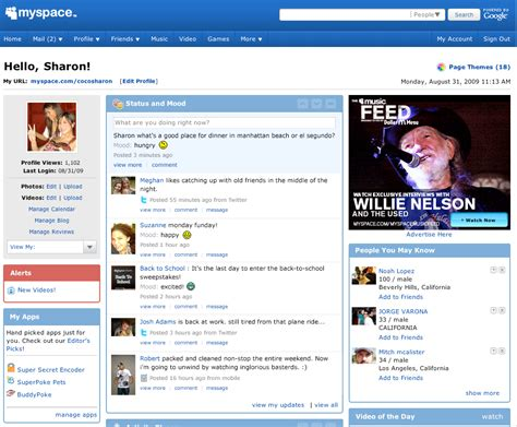 myspace hooks up with offers two way sync