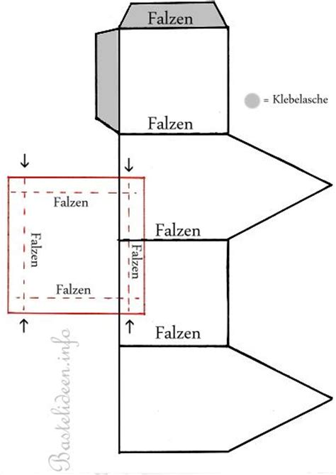 haus basteln kostenlose bastelvorlage teelichthaus 1