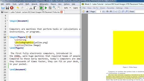 latex tutorial insert image week 3 latex tutorial lecture 002 insert images htb