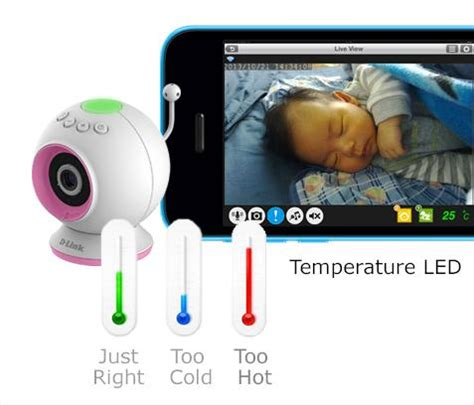 D Link Dcs 700l Wi Fi Baby Vision Two Way Limited d link hd wi fi baby temperature