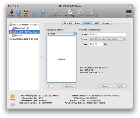 format hard drive mac os 9 partition a hard drive using mac os x disk utility