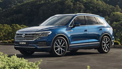 volkswagen touareg 2020 volkswagen touareg 2020 pricing and spec confirmed car