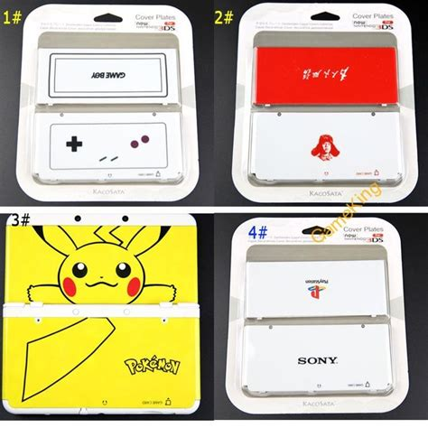 8 style choose for nintendo new 3ds housing shell
