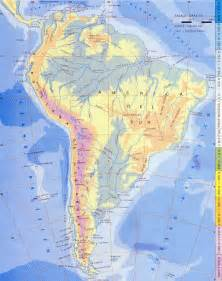 south america physical map size south america physical map size