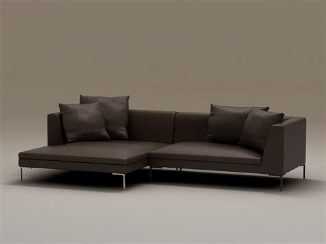 black fabric sofa set model dsmax files modeling cadnav