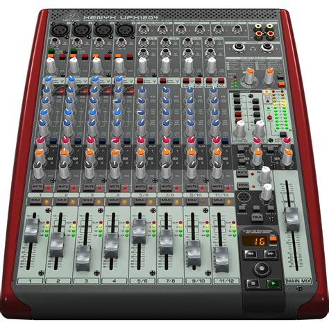 Mixer Behringer behringer xenyx ufx1204 small format mixer at gear4music