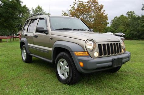 automobile air conditioning service 2005 jeep liberty regenerative braking buy used one owner no accidents great running 2005 jeep liberty sport 3 7l v6 4 wheel in new
