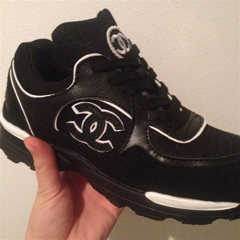 chanel mens trainer sneakers chanel tennis black sneakers from chanel inspired shop on