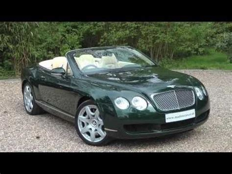green bentley convertible bentley continental gtc youtube