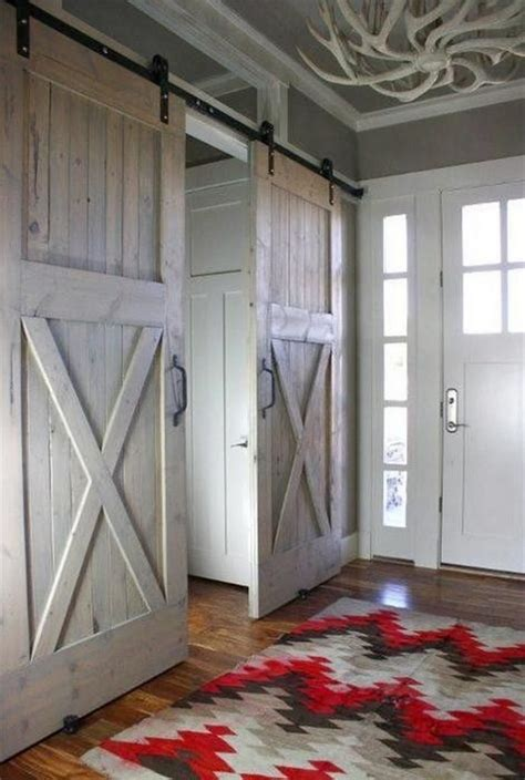 Barn Doors With Windows Ideas Stylish Sliding Barn Door Ideas The Owner Builder Network