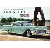 1958 Chevrolet Brochure  XFrameChevycom