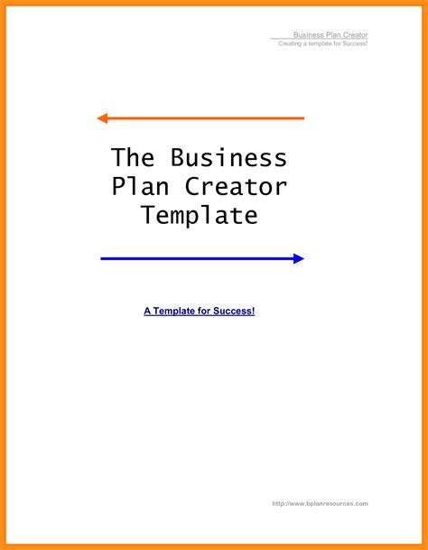 business plan title page template 6 sle business plan cover agenda exle