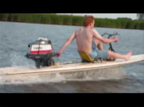 motor boat surfboard motorfoil 2004 hydrofoil surfboard with motor outboard
