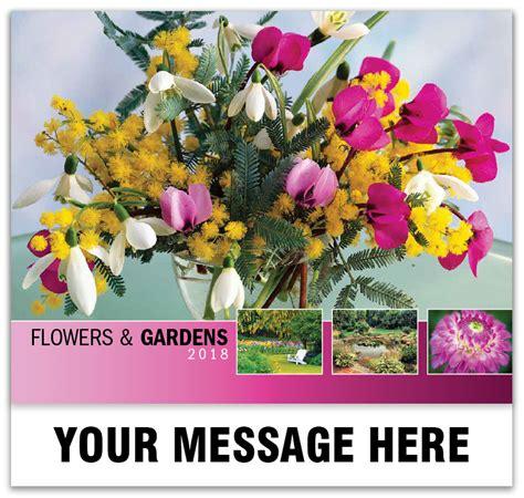 Flower Garden Promo Codes Flowers And Gardens Promo Calendar 65 162 Business Promotional Calendars