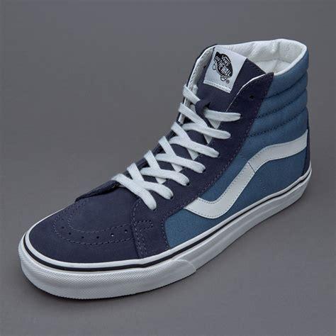 Sepatu Vans High Original sepatu sneakers vans sk8 hi reissue 2 tone parisian