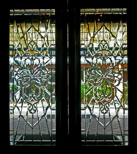 Antique Lead Glass Doors By Mark Sellers Antique Glass Doors