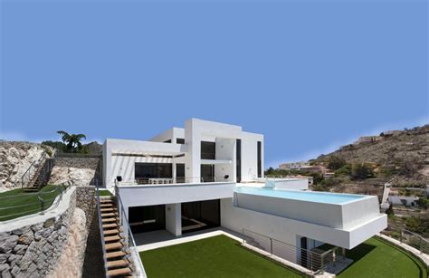 mediterranean home style soothing residential project overlooking the mediterranean